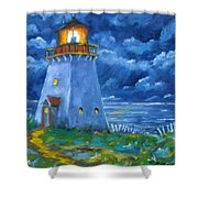 Pointe Bonaventure  Shower Curtain