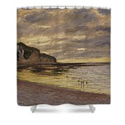 Pointe De Lailly Shower Curtain
