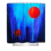 Points Of Interest  Shower Curtain