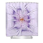 Poiple Poiple Shower Curtain
