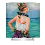 Poipu Hula Shower Curtain