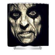Poison Alice Cooper Shower Curtain