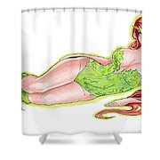 Poison Ivy 3 Shower Curtain