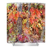 Poison Ivy Shower Curtain