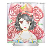 Poisoned Snow Shower Curtain