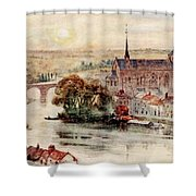 Poitiers Shower Curtain