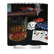 Poker Night Shower Curtain