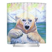 Polar Playtime Shower Curtain