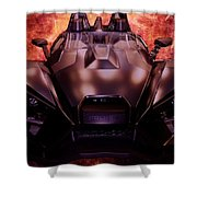 Polaris Car Shower Curtain