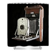 Polaroid 95a Land Camera Shower Curtain