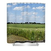 Polder Near Reeuwijk-1 Shower Curtain