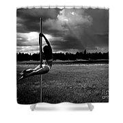 Pole Dance Storm 1 Shower Curtain