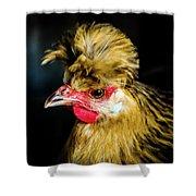 Polish Hen Shower Curtain