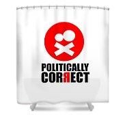 Politically Correct Shower Curtain