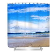 Pollan Strand, Inishowen, County Shower Curtain