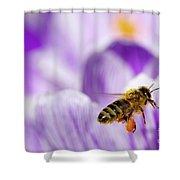 Pollen Collector Shower Curtain