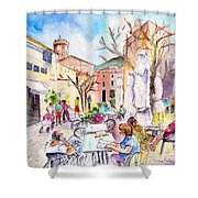 Pollenca 03 Shower Curtain
