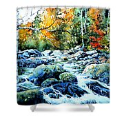 Polliwog Clearing Shower Curtain