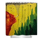 Pollution Shower Curtain