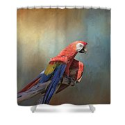 Polly Want A Cracker Shower Curtain