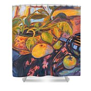 Pollys Plant Shower Curtain