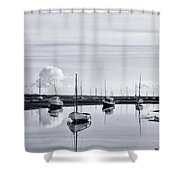 Reflections In A Creek  Shower Curtain