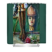 Polo Day Shower Curtain