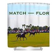 Polo Match Florida Shower Curtain