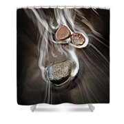 Pololu Valley Stones Shower Curtain