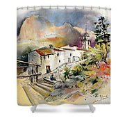 Polop De La Marina 01 Shower Curtain