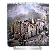 Polop De La Marina 03 Shower Curtain