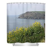 Polperro To Looe Shower Curtain