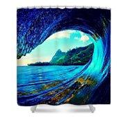 Polu Ka Wai Shower Curtain