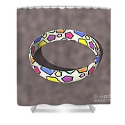 Poly Ring  Shower Curtain