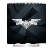Polygon Batman Logo - 7515 Shower Curtain