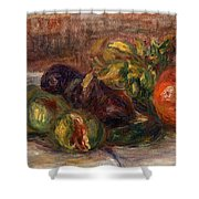 Pomegranate And Figs Shower Curtain