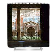 Pompei View 1 Shower Curtain