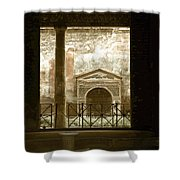 Pompei View 2 Shower Curtain