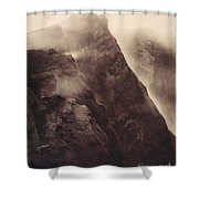 Pompeii, Mt Vesuvius Shower Curtain