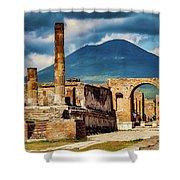 Pompeii Redeux Shower Curtain