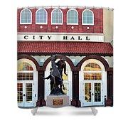 Ponca City City Hall Shower Curtain