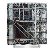 Ponca City Refinery Two Shower Curtain