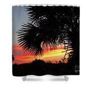 Ponce Inlet Florida Sunset Shower Curtain