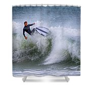 Ponce Surf 2017 Shower Curtain