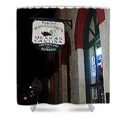 Poncho Mcgillicuddys Shower Curtain