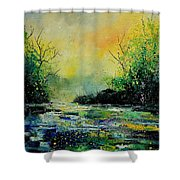 Pond 459060 Shower Curtain