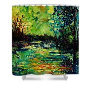 Pond 560120 Shower Curtain