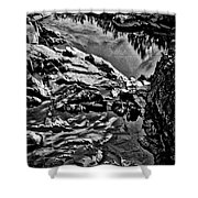 Pond At Great Falls #4 Shower Curtain