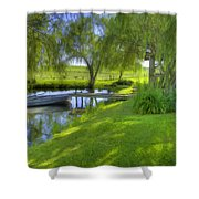 Pond Dreams 2 Shower Curtain