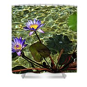 Pond Florals Shower Curtain